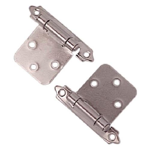 Self-closing hinge - Chrome - Pack of 2