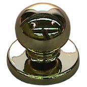 Bouton en métal laiton