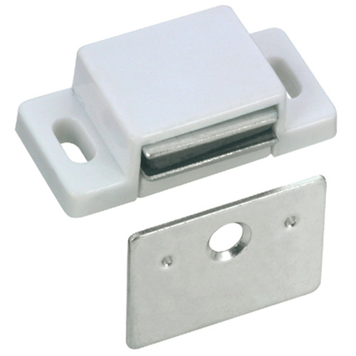 Magnetic Latch - White - 10/Pk