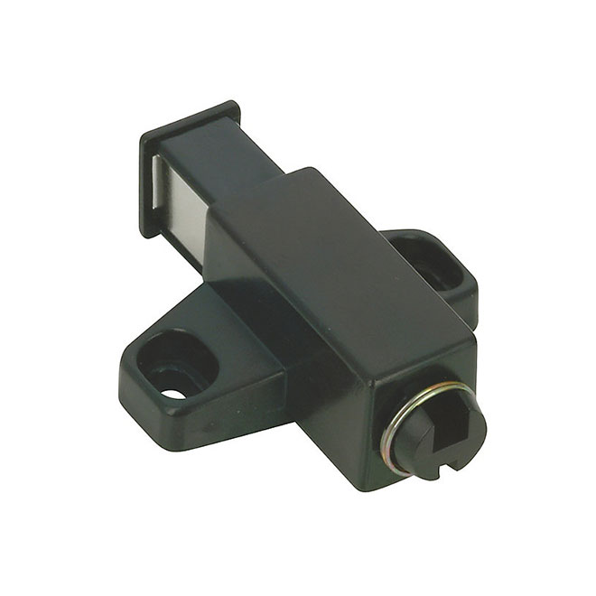 Single Automatic Magnetic Latch - 32 mm - Black