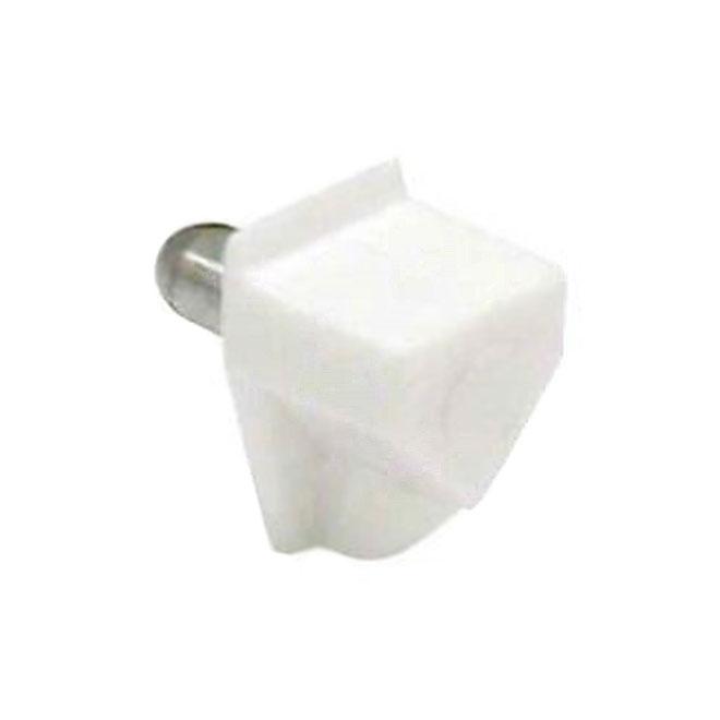 Metal Shelf Bracket - 5 mm - White- 8/Pack