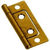 Classic Bifold Hinge - 22 x 51 mm - 2/PK - Antique Brass