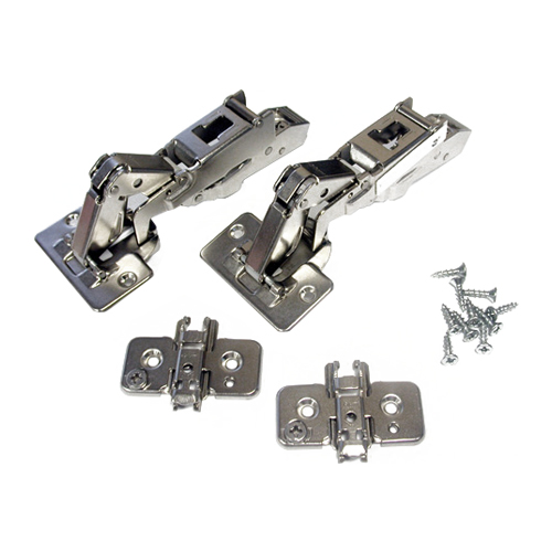"Self-Closing Hinge - Screw-On - 170° - 5/8"" - 2PK"
