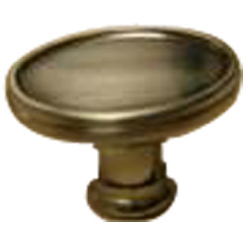 Metal Knob Antique Nickel