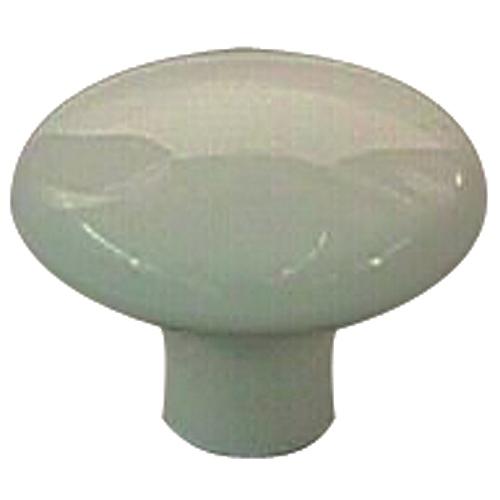 Bouton en plastique blanc