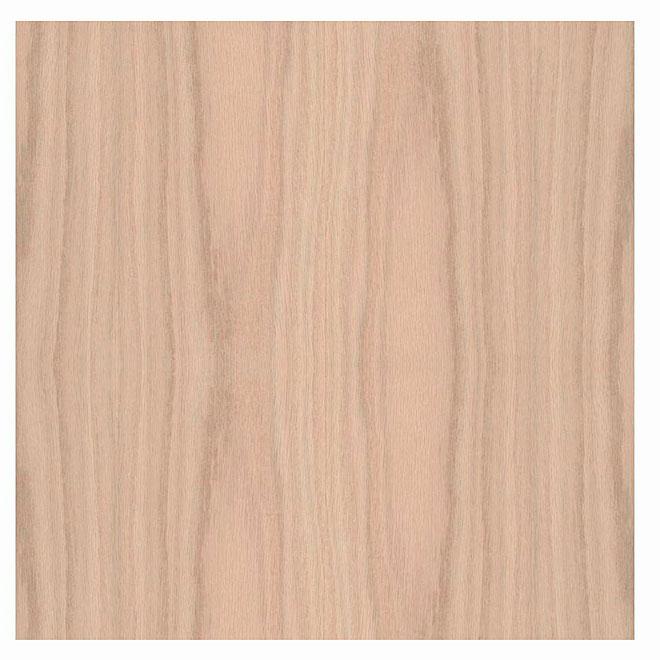 """Veneer Sheet - Red Oak - Pre-Glued - 12"""" x 96"""""""