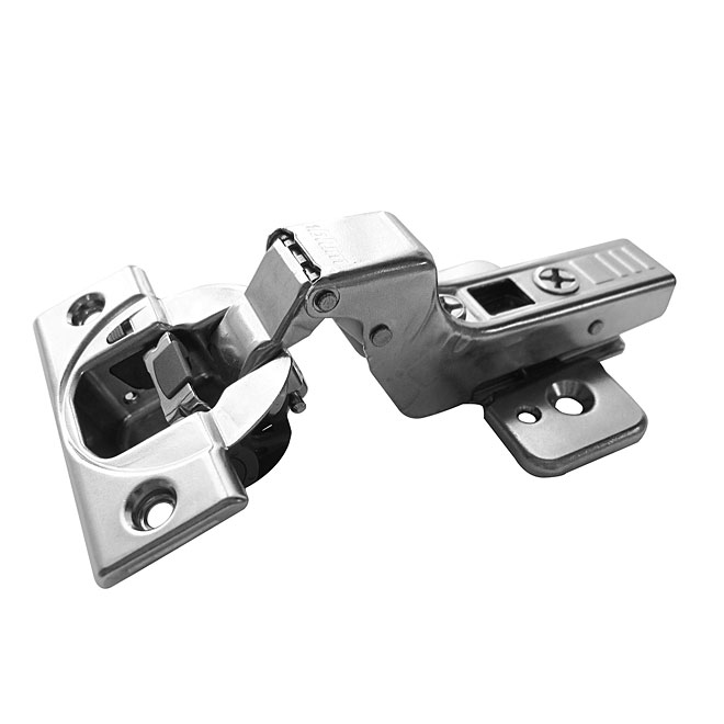Richelieu Clip Top Blumotion Self-Closing Hinge - Screw-On - 110° - 4 3/8-in x 2 1/4-in - 2-Pack