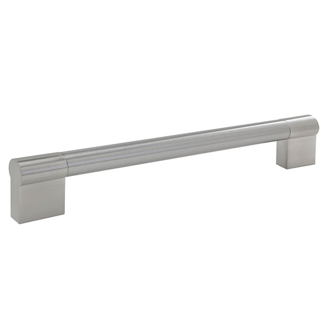 """""""Contemporary"""" Stainless Steel and Steel Handle Pull"""