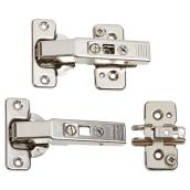 "Self-Closing Hinge - Screw-On - 95° - 3/4"" - 2PK"