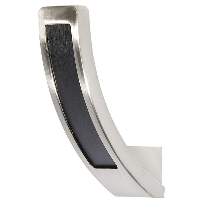 Single Hook - 67mm - Brushed Nickel