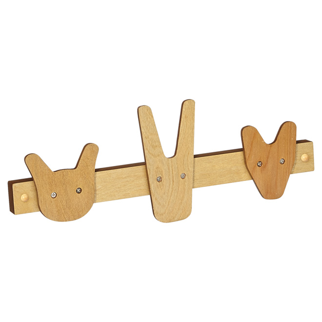 Crochet triple en bois