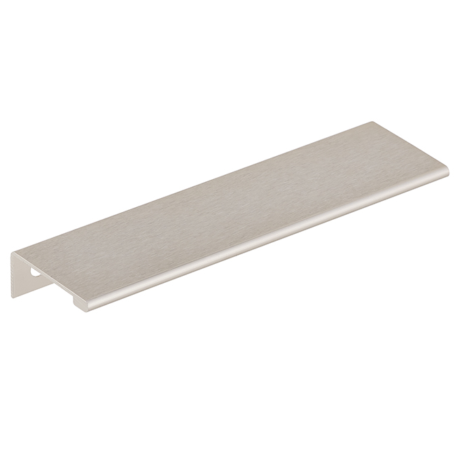 Aluminum Edge Pull Handle - 148mm - Stainless Steel