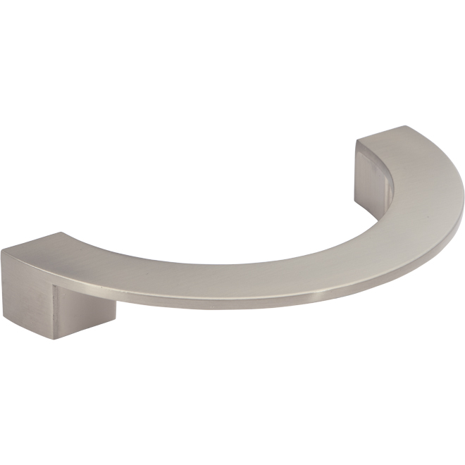"""Contemporary Metal Pull - 5 1/32"""" - Brushed Nickel"""