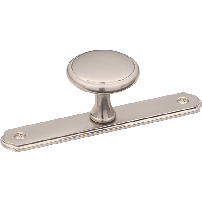 "Richelieu ""Altadore"" Pull Knob - 36 mm - Brushed Nickel"