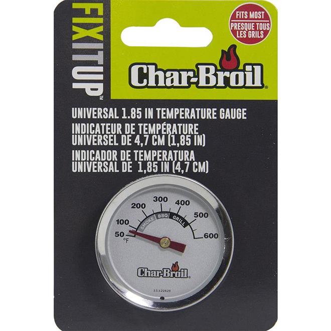 """Char-Broil indicateur de température pour BBQ et fumoirs, 3"""""""