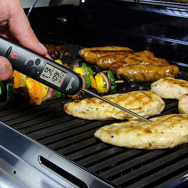 Char-Broil(R) Instant-Read Digital Thermometer - Black