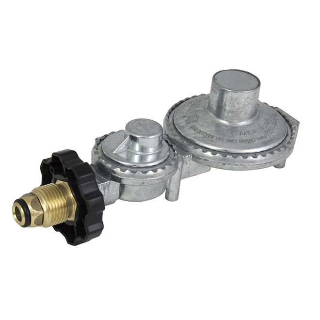 Char Broil Dual-Stage Propane Tank Regulator - 200,000 BTU