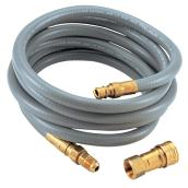 Male-Female Natural Gas Hose - 3/8