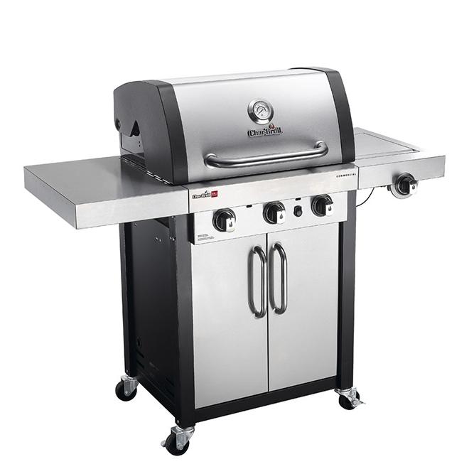 Char-Broil Natural Gas Barbecue - 3 Burners - Black