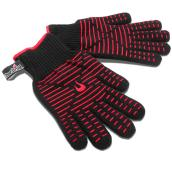 Char-Broil Heat-Resistant Gloves - Cotton and Silicon - One Size