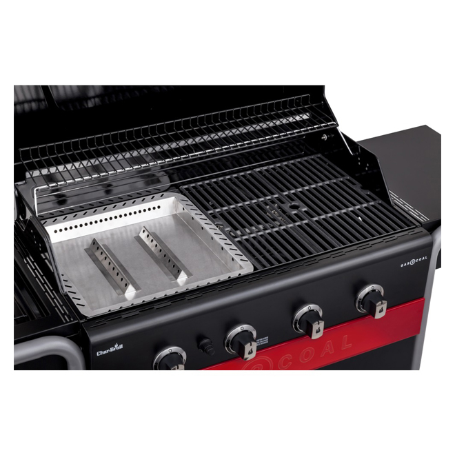 Char-Broil Propane and Charcoal Hybrid Barbecue - 740 sq.in