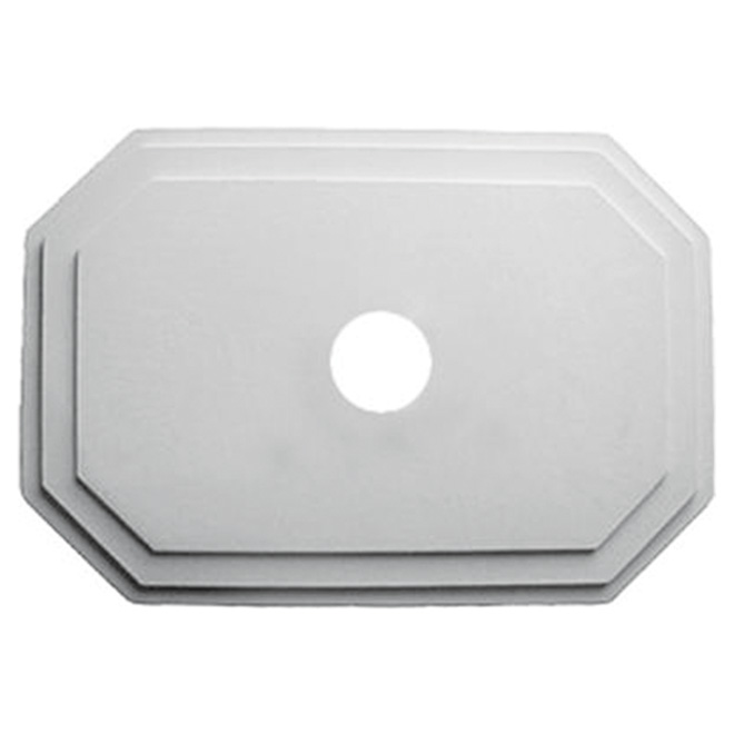 Polyurethane Hexagonal Ceiling Medallion
