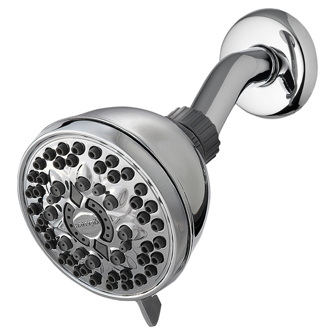 PowerSpray+ Shower Head - 6Settings - 9.5L/min - Chrome
