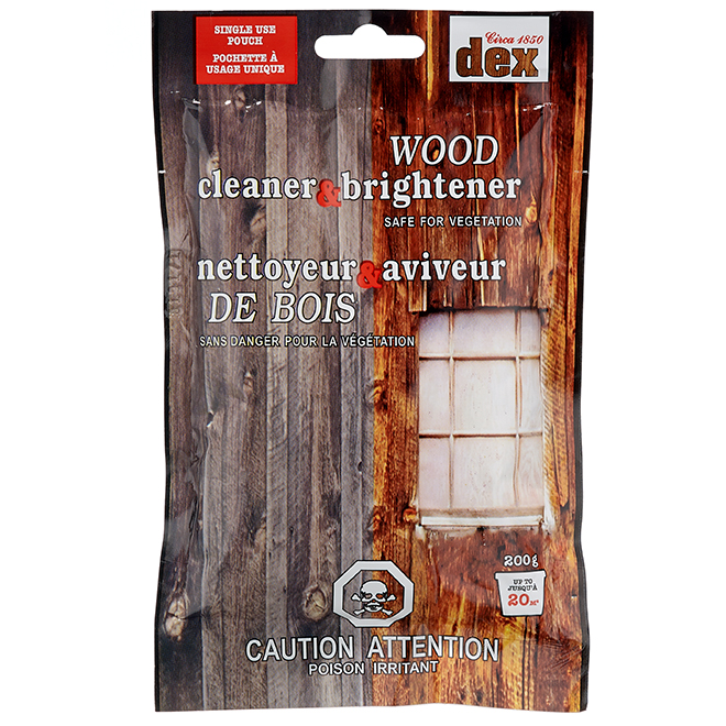 Wood Cleaner and Brightener - Single Use - 200 g