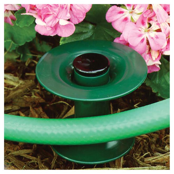 Piquet guide pour boyau Suncast, plastique, vert