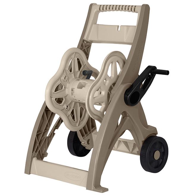 Hosemobile Hose Cart Reel - 175' Capacity - Brown
