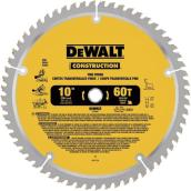 Carbide Circular Saw Blade - Construction - 60 TH - 10""