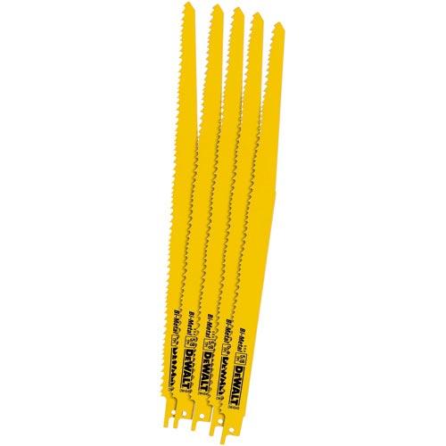 """Bi-Metal Reciprocating Blades - 12"""" - 5-8 TPI"""
