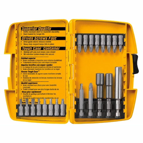 Bits - 21-Screwdriver Bit Set