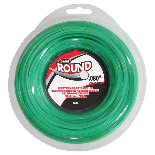 Laser Electric Trimmer Line - 0.080-in x 160-ft - Green