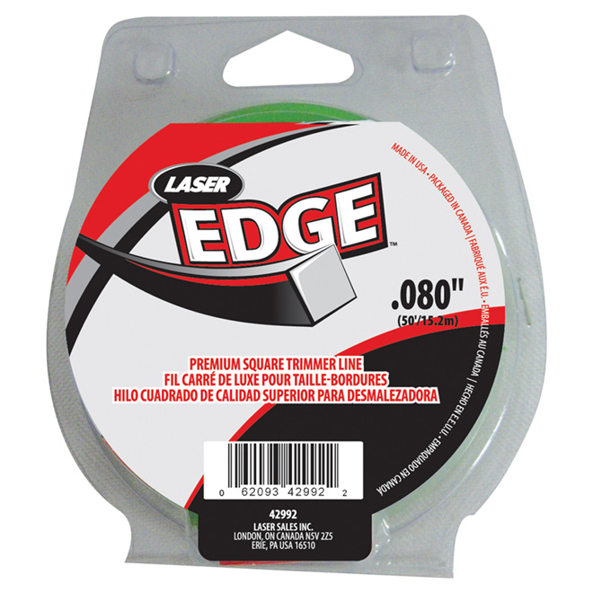 Electric Edge Trimmer Line - 0.080-in - 50-ft Spool