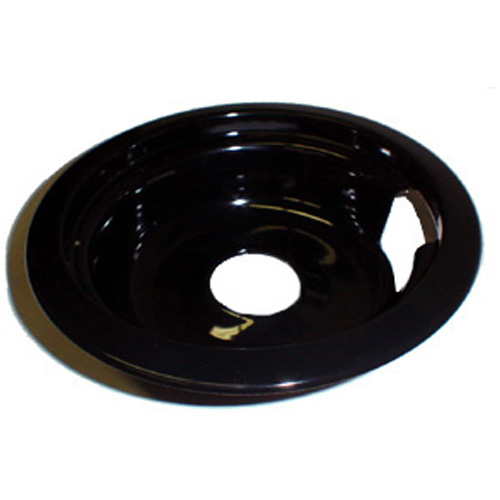 Porcelain Stove Drip Bowl and Trim Ring - 8""