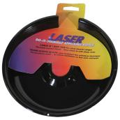 Laser Stove Drip Pan - 8-in - Black