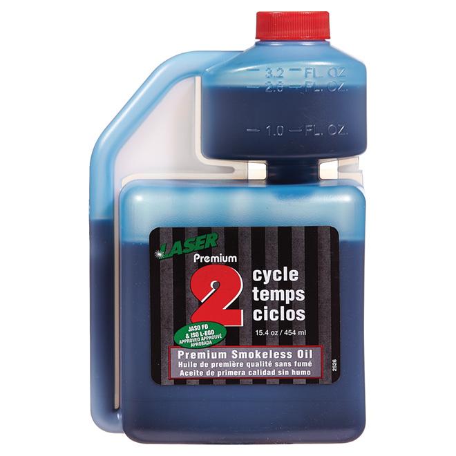 Premium 2-Cycle Smokeless Oil - 454 mL