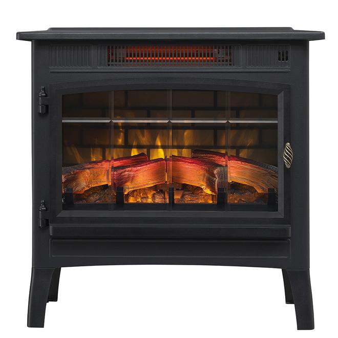 Infrared Quartz Fireplace Stove - Electric - 1500 W - 5200 BTU