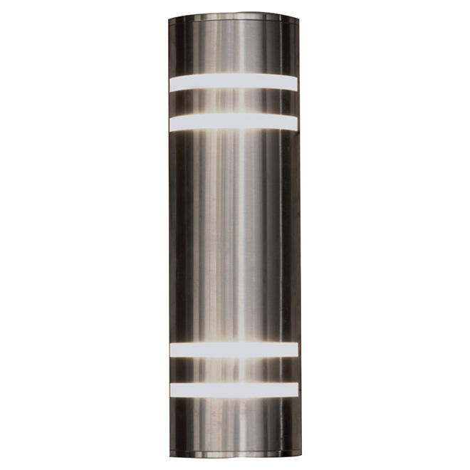 Outdoor Wall Sconce - Stainless Steel | RONA