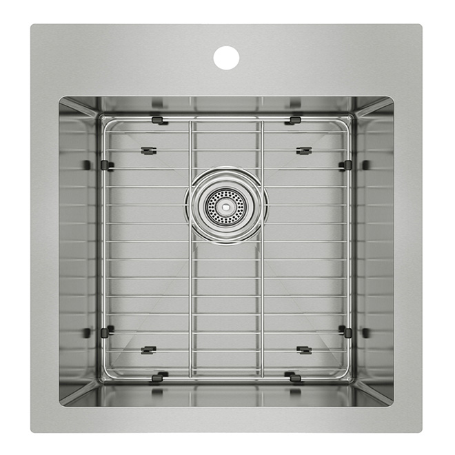 Single Kitchen Sinks Stainless steel single kitchen sink rona stainless steel single kitchen sink workwithnaturefo