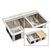 Commercial-Grade Stainless Steel 1 & 3/4 Basin Sink