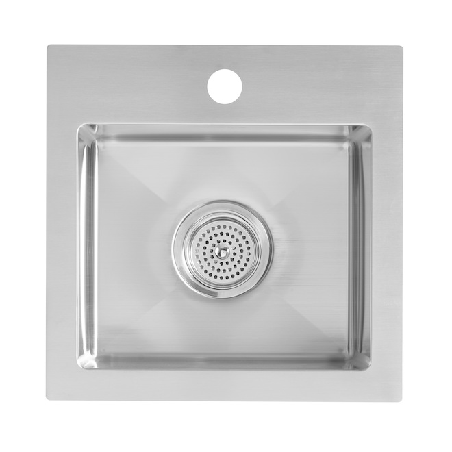 "Odyssey Bar Sink - Stainless Steel - Drop-In - 15.1"" x 15.1"""