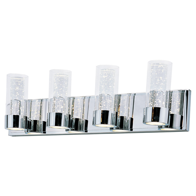 Vanity Light - Ratio - 4 Lights - 20W LED - Chrome