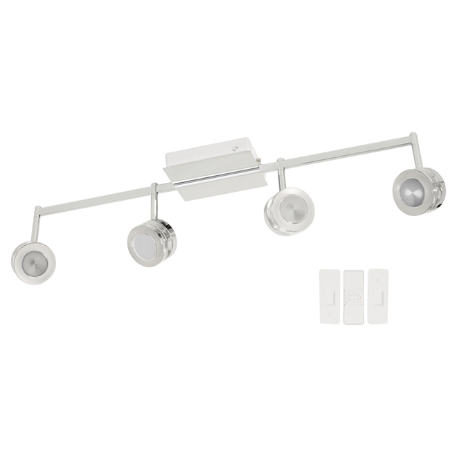 halo smart 4 head track light 8 led 3 w rona