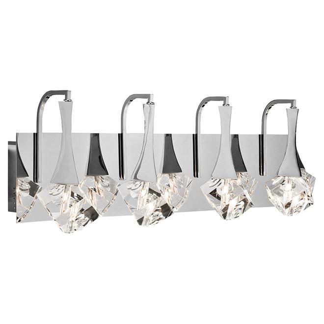 Applique pour meuble-lavabo, Spontaneous, 4 lumières, 22 W
