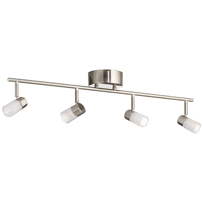 """Vars"" LED 4-Light Track Light - Chrome"