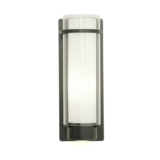 Vela Outdoor LED Wall Sconce - 10 W - Black