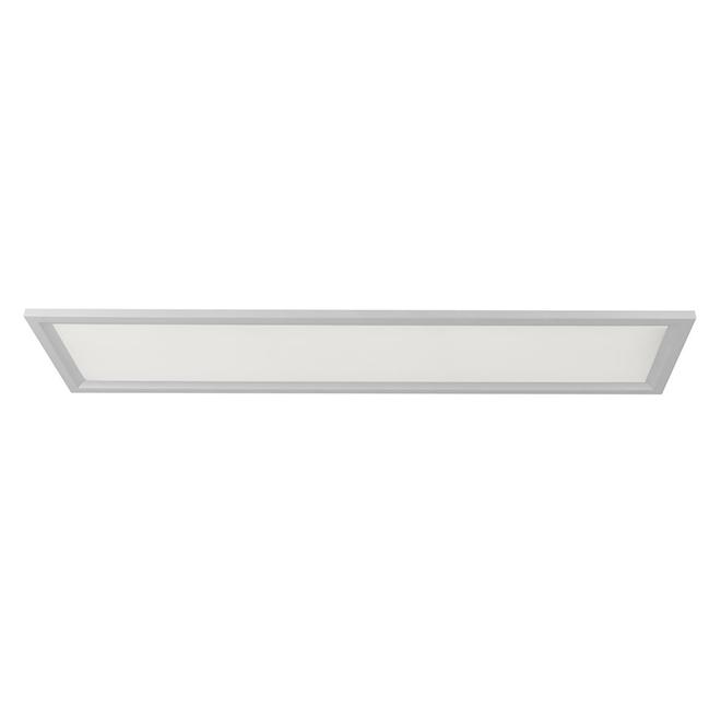 Panneau lumineux, acier, 47 3/4'' x 11,8'', blanc