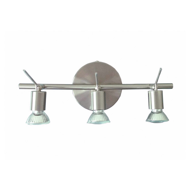3-Light Track Fixture - Brushed Nickel